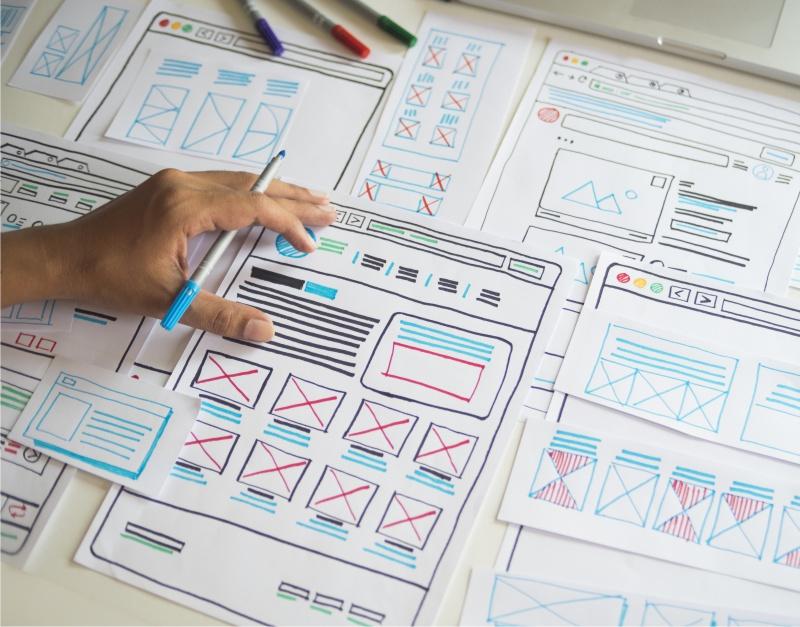 create web design