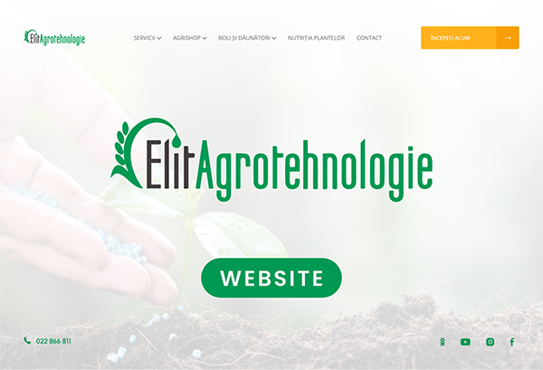 ElitAgrotehnologie Website
