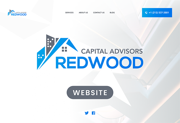 Redwood Capital Advisors Website and Content Marketing