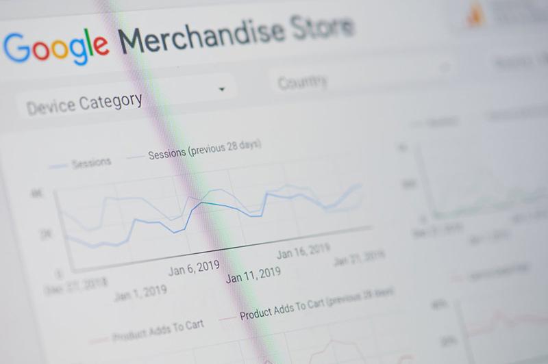 google ads merchandise store