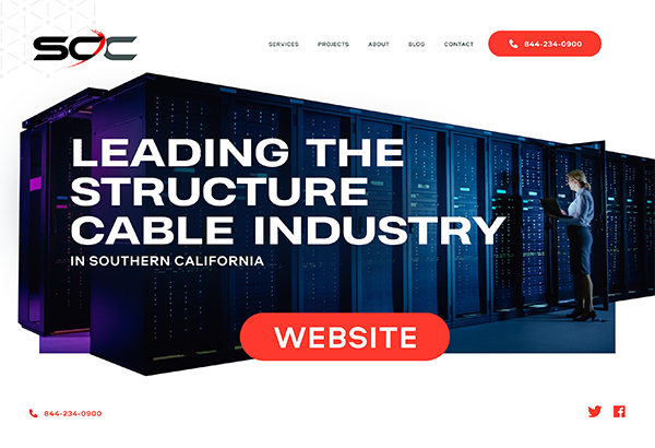 Structure Cable Communications Website